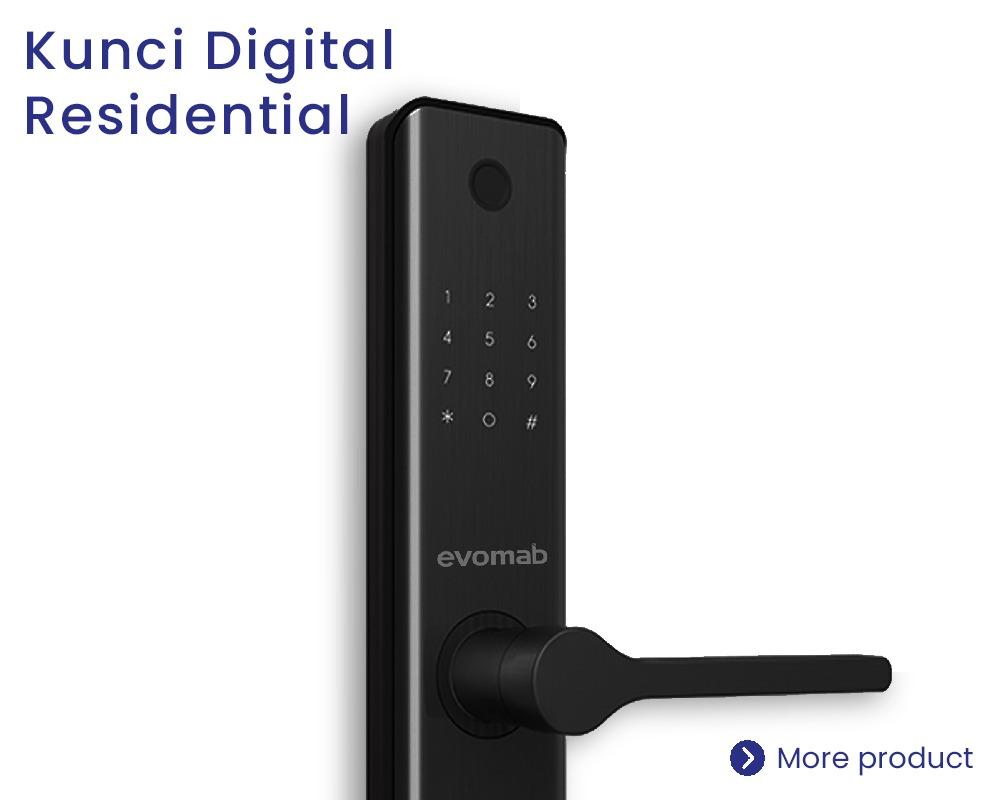 Kategori Kunci Digital Residential Evomab